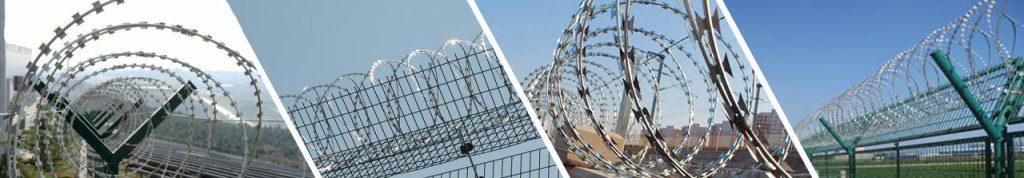 Genellikle yüksek güvenlik gerektiren yerlerde kullanılır. Caydırıcılık ve güvenlikte birinci sırayı alan jiletli teller her türlü yapılarda ve sınırlarda kendine has sarım şekilleriyle kendi başına, Panel çit sistemlerinde veya her türlü çit sistemleri üzerine uygulanmaktadır.